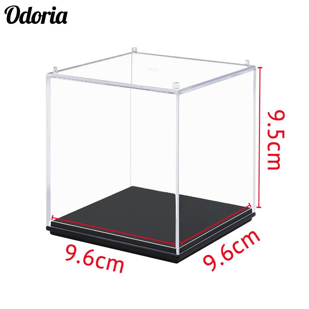 Odoria Acrylic Display Case/Box (10cm Cube) Perspex