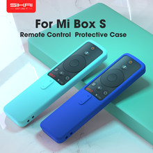 SIKAI-funda de silicona para Xiaomi Mi Box S/4X Mi TV Stick, Protector de mando a distancia suave y liso