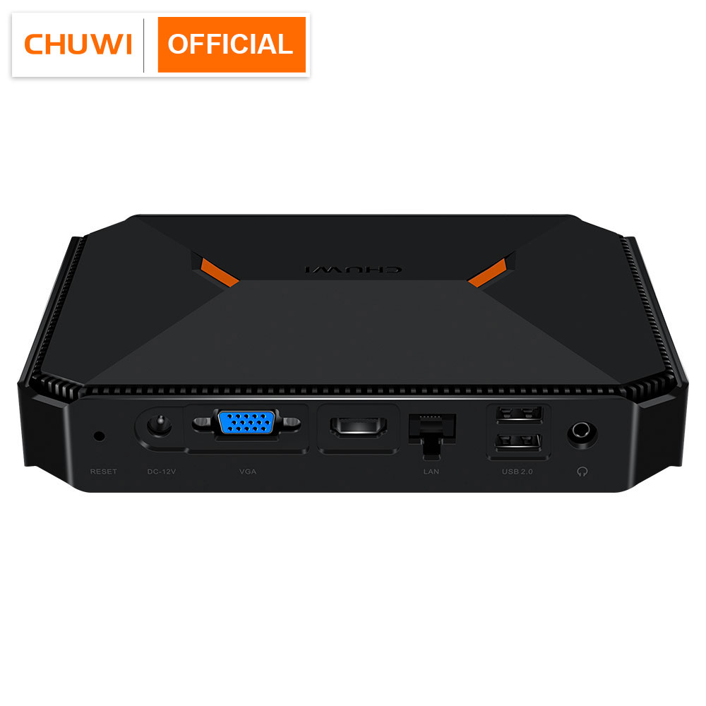 Chuwi herobox chegada nova mini pc intel gemini-lago n4100 quad core lpddr4 8gb 180g ssd windows 10 sistema operacional