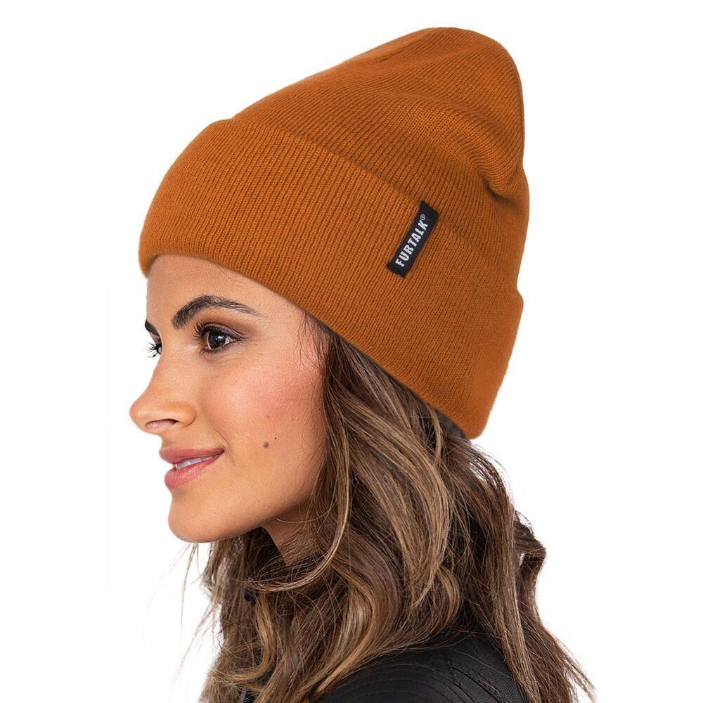 FURTALK, Весенняя Шапка-бини для женщин, шапка для часов, шапка для мужчин, вязанная шапочка, шапка Skullies, шапки для женщин осень-зима