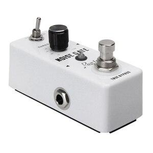 Image 3 - Rowin Noise Gate redukcja szumów tłumik pedał efektów gitarowych 2 tryby True Bypass powłoka ze stopu aluminium akcesoria gitarowe