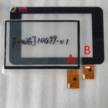 цена на Black new touch screen P/N F-WGJ10499-V1 Capacitive touch screen panel repair and replacement parts free shipping