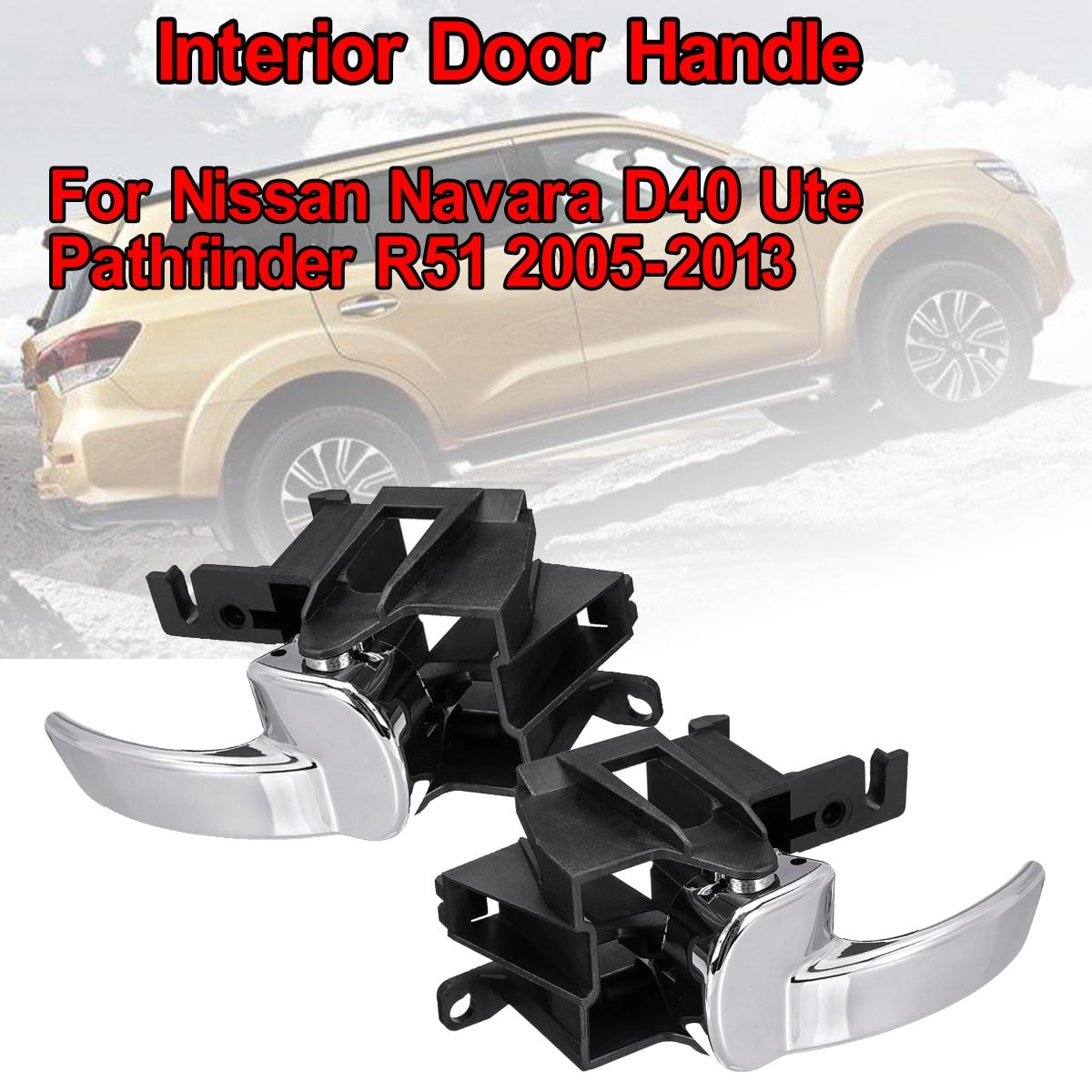 Auto Tür Griff Innen Vorne Hinten Links Rechts Für Nissan Navara D40 Ute/Pathfinder R51 2005-2013 W02-7772057-2 w02-7772057-1