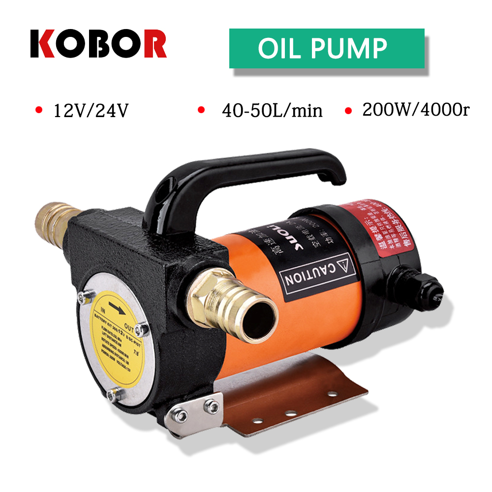 Mini Dc Electric Oil Pump 12v 200w 40l/min Diesel Kerosene