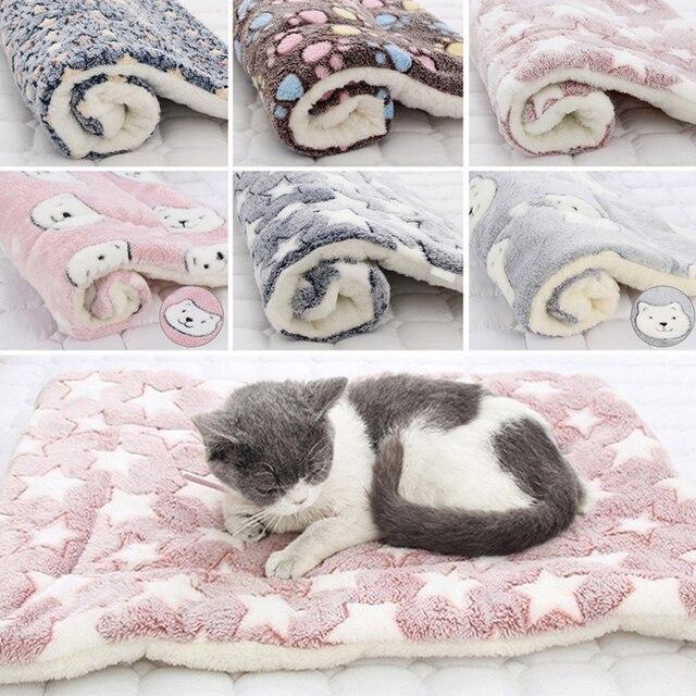 Dog Soft Wool Mat Blanket  1