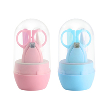 Manicure-Tools Nail-Clipper-Set Baby-Boy-Girl Children's 4pcs Cutter-Kit Hand-Foot Hot