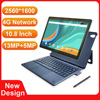 New Design 10.8 Inch 2 In 1 Tablet Laptop 2560*1600 Docking Keyboard 4G Tablet Android 10 Cores MT6797 Dual Camera 13MP