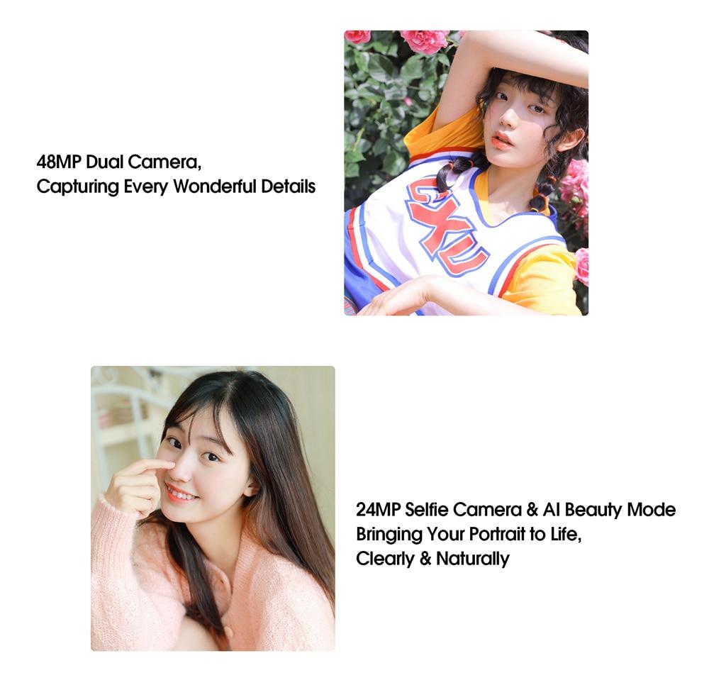 ELEPHONE U3H Helio P70 Octa Core Smartphone Better Than Xiaomi Mi 10 Redmi Note 7 Note 8 6.53 FHD+ 128GB  256GB 24MP Selfie 48MP Dual Camera NFC Android 10 Mobile Phone (18)