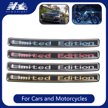 3D Auto Car Sticker Limited Edition Emblem Logo Badge Decal Case For BMW Yamaha Honda Kawasaki Suzuki Triumph Volkswagen Golf image