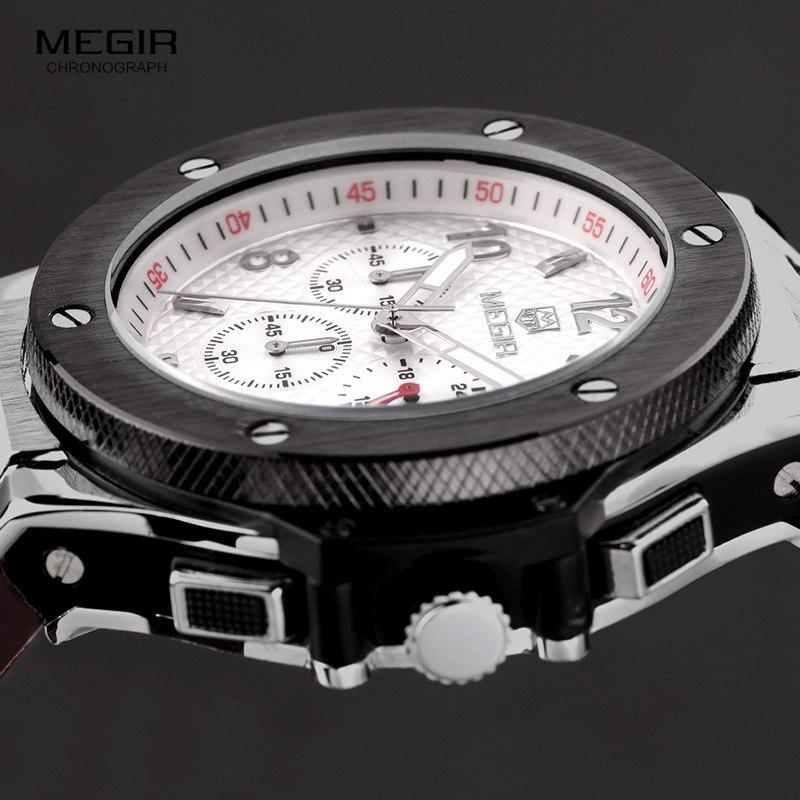 Men Luxury Quartz Watch 3ATM Water Resistant Quartz Wrist Original Men Brand Watches For Big Wrists
