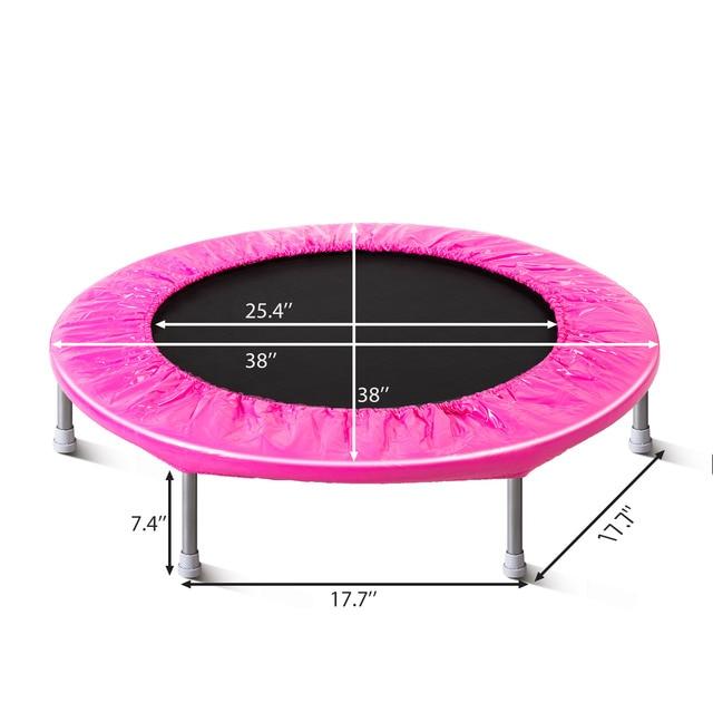 38 inch Durable Round Trampoline  1