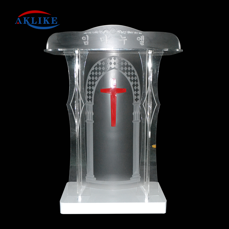 Church Podiums Glass Pulpits Designs Acrylic Reception Desk Aklike Chairs Podium Concert  Modern Church Pulpit Stands