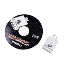 SD כרטיס קורא מתאם + CD עם DreamShell אתחול מטעין עבור Sega DC Dreamcast קונסולת משחקים TF כרטיס משחק נגן מתאם