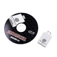 Адаптер считывателя SD-карт + CD с Загрузчиком DreamShell для игровой консоли Sega DC Dreamcast, адаптер игрового плеера с TF-картой