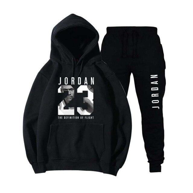 Nouveau 2018 flambant neuf mode JORDAN 23 hommes vêtements de sport imprimer hommes sweats à capuche pull Hip Hop hommes survêtement sweat-shirts vêtements