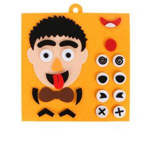 DIY игрушки для рукоделия, детские развивающие игрушки-головоломки, Обучающие игрушки, обучающие наклейки ручной работы P1M6