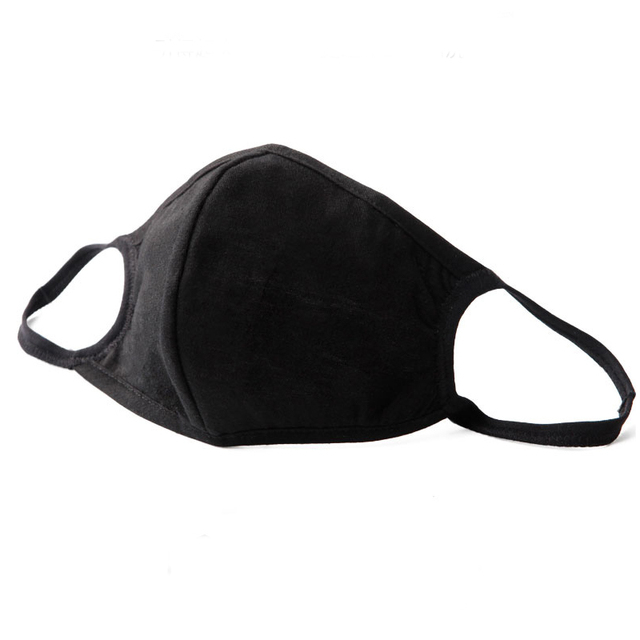 Anti dust-masks PM 2.5 mask Cotton dust  training masks wind proof mouth-muffle flu face masks Activated carbon filtration Black