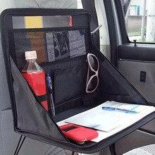 Portable Car Computer Desk Bracket Foldable Laptop Back Seat Table Holder Food Tray Storage Bag