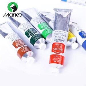 Профессиональная масляная краска Marie Master s, трубка 200 мл, 99 цветов, акриловый краскопульт, пигментные краски, товары для рукоделия, для студен...