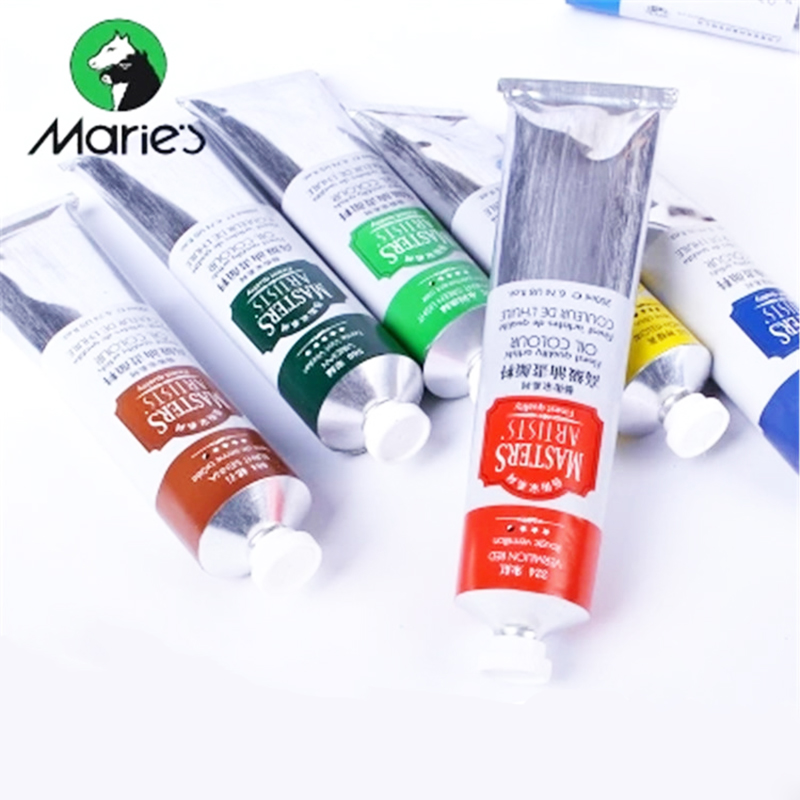 200ml MARIES Master Artist Professional Oil Paints Tube 99 Color Acrylic Paint Tool Painting Pigment Art Supplies Artist Student