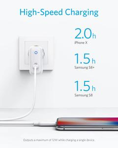 Image 3 - Anker PowerPort Speed 1,USB Type C 30W Wall Charger &Power Delivery for HTC 10,Nexus,LG,Pixel C,Samsung W700, MacBook,iPad etc