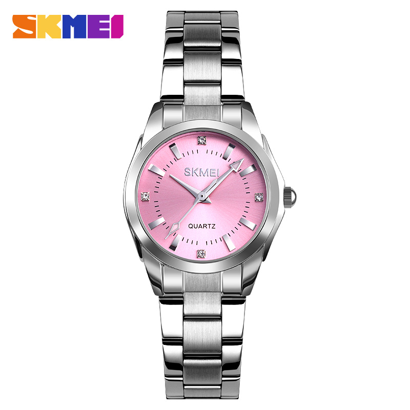2020 SKMEI Casual Women Romantic Quartz Watches Luxury Female Girl Clock Waterproof Ladies Wristwatches Relogio Feminino 1620 7