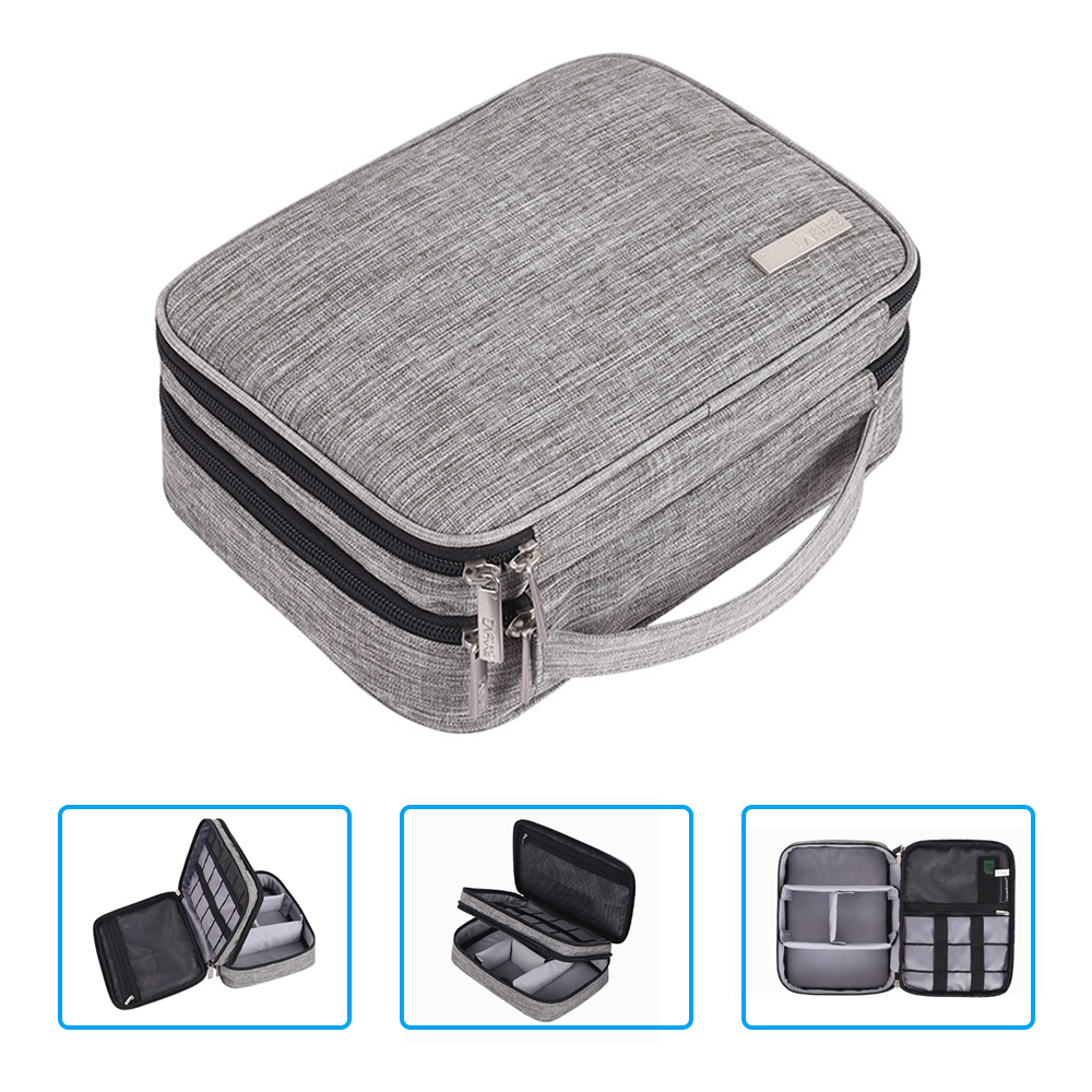 Multifunction Digital Storage Bag Empty USB Data Cable Earphone Wire pen Power bank HDD Organizer Portable