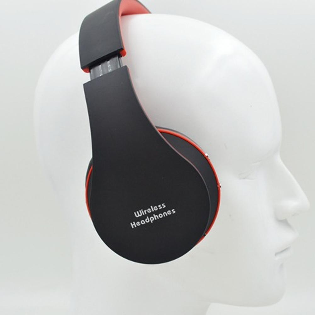 NX-8252 Blutooth Audio Cordless Wireless <font><b>Headphone</b></font> Headset Auriculares <font><b>Bluetooth</b></font> Earphone For Computer Head Phone <font><b>PC</b></font> With Mic image