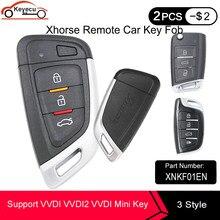 KEYECU XHORSE Universal-Proximity Smart Remote Schlüssel XNKF01EN XSMQB1EN XSCS00EN für VVDI VVDI2 Mini Schlüssel Werkzeug Englisch Version
