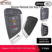 Keyecu xhorse proximidade universal inteligente remoto chave xnkf01en xsmqb1en xscs00en para vvdi vvdi2 vvdi mini ferramenta chave versão em inglês