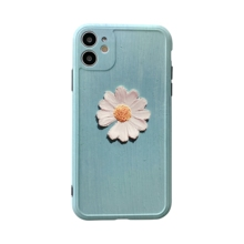 Cute Flower Print  Back Cover Luxury Flower Clear Soft Cases Phone Case  couple Case For iPhone 7 8 plus XS 11 Pro X sheller flower print tissue cover