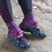 Camo Pattern Running Trail Gaiter Light weight.
