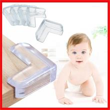 4* Anti-collision Strip Child Baby Safety Silicone Protector Table Corner Edge Protection Cover Children Edge & Guards