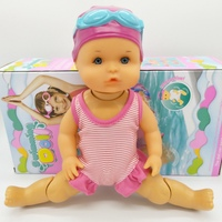 Waterproof Electric Swimming Doll Kids Girls Toy New Bath Swimming Pool Waterproof Dolls Girls Toy Birthday Gifts