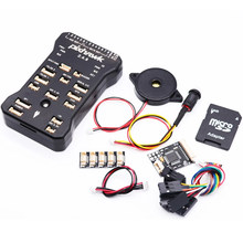 Pixhawk PX4 Pix 2.4.8 32 Bit Pengendali Penerbangan Autopilot dengan 4G SD Safety Switch Buzzer Ppm I2C untuk RC quadcopter(China)