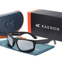 TR90 frame Kaenon Polarized Sunglasses men Mirrored lens Brand Design women Driving Fishing Sun glasses UV400 7 COLORS