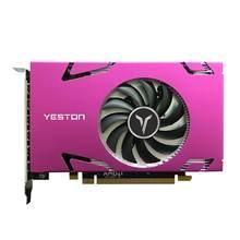 Yeston Grafikkarte R7 350 2G D5 6 COMPUTER-TV-ANSCHLUSSKABEL MINIDP 6-bildschirm Unterstützung Split Screen 750/4000MHz 2G/128bit/GDDR5 mit 6 Mini DP Ports