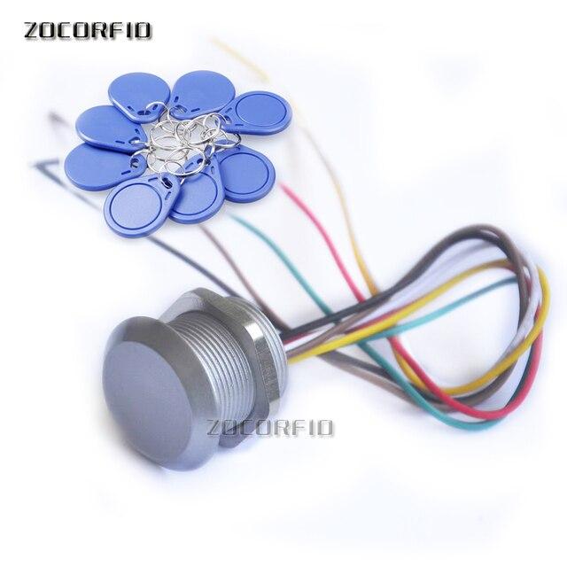 Lecteur de cartes didentité EM, étanche, pour contrôle daccès, avec Interface Wiegand, 125KHz, 9 15V, pour proximité, Compatible EM