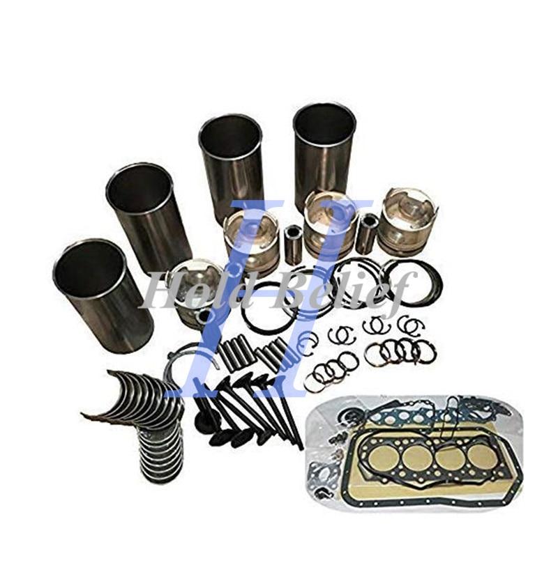 Rebuild Kit For Deutz BF4M1011 BF4M1011F Engine Bobcat 863 864 Skid Steer Loader