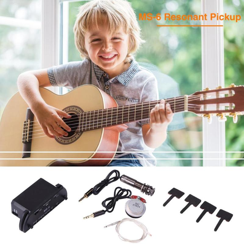 Amplificateur de résonance de guitare acoustique multifonctionnel pour la partie de guitare