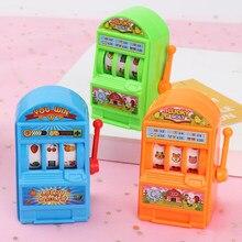 1pc mini jackpot máquina caça-níqueis de frutas gags educacional handheld antistress práticas piadas simulação brinquedo sorte crianças aniversário jogar