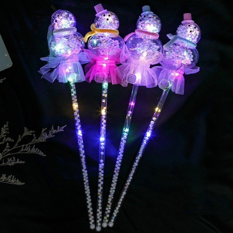 Best LED Magical Star Wand Flashing Lights up Glow Sticks Party  Xmas HalloweenP