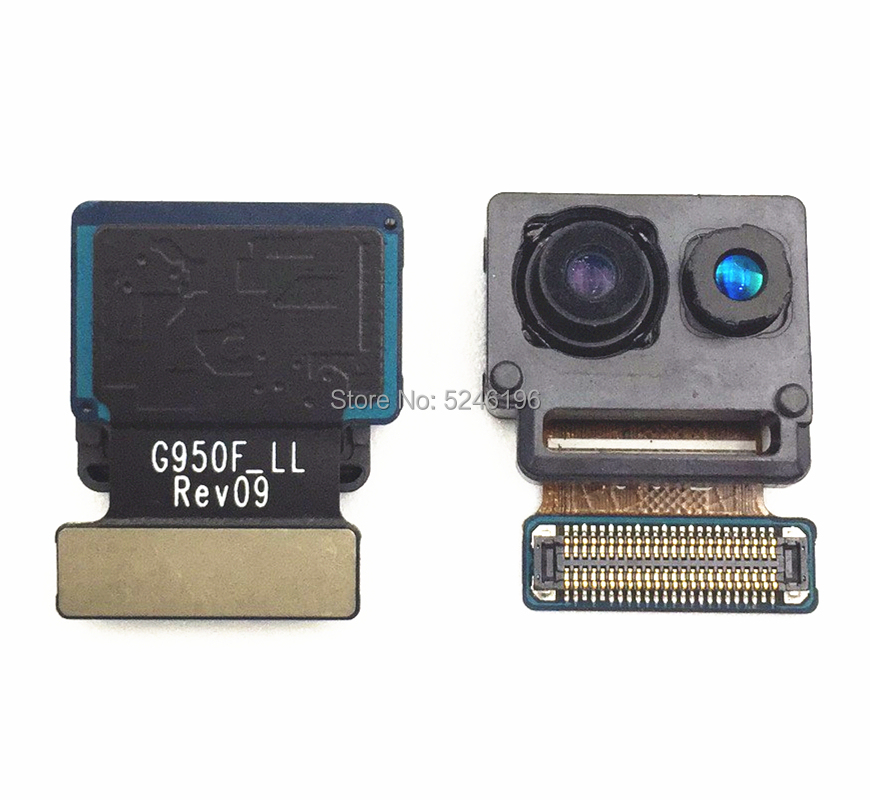 1pcs Front Facing Small Camera Module Flex Cable For Samsung Galaxy S8 G950 G950F Universal Type Selfie Camera Original
