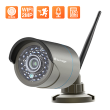 Techage 1080P IP Camera Outdoor Waterproof Camera Home Security Wireless WiFi Surveillance Camera Motion Detection Support ONVIF