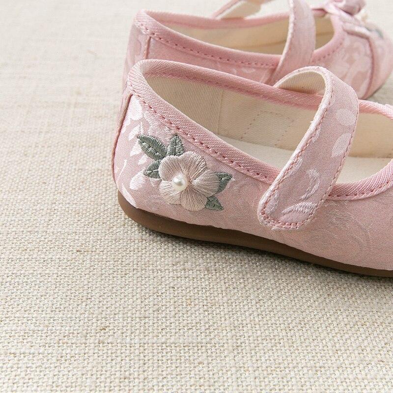 jacquard sapatos florais criancas marca sapatos 02