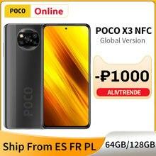 POCO X3 NFC 6GB 64GB / 128GB versión Global teléfono móvil Snapdragon 732G 120Hz de 64MP Quad 5160mAh Cámara 33W de carga