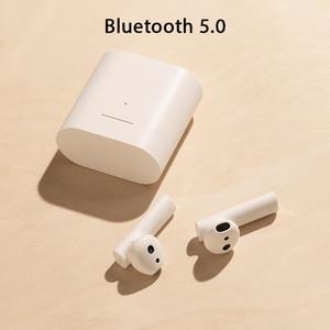 Image 2 - Xiaomi airdotsプロ2空気2 tws mi真イヤフォン2ワイヤレスイヤホンlhdcタップステレオデュアルマイクencマイクハンズフリーで空気1