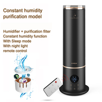 22%,5.6L remote control Floor Humidifier Aroma Diffuser Negative Ions Air purification Aromatherapy Mist Maker Constant humidity