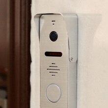 Проводной дверной звонок HomeFong, панель вызова, угол 130 градусов, HD1080P, алюминиевый сплав, ИК, ночное видение, дверная камера, видеодомофон