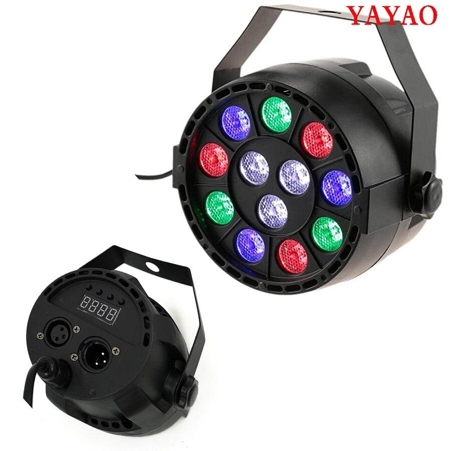 YaYaO LED Rgbw12x3w DMX512 Stage Light Party DJ Sound Control Disco Ball Projector , Used For Club Digital Display 20W